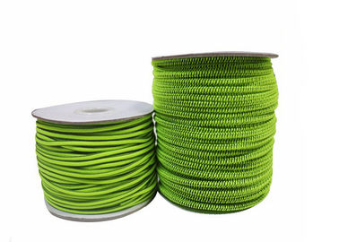 8mm Round Elastic Cord String Elastic Rope With Hook Coated Finishing
